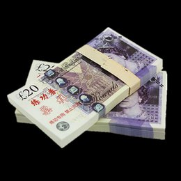 Wholesale UK Pound BANKNOTES GDP Bank Staff Training Collect Learning Banknotes New Arts Gifts Home Arts Crafts
