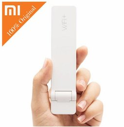 Wholesale Original XIAOMI WiFi extender router signal amplifier Mbps WI FI network wireless booster USB repeater for outdoor