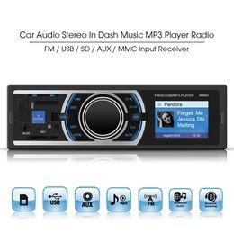 Wholesale 50W x CH Car Audio Stereos In Dash Music Player FM USB SD AUX MMC Input Receiver CEC_824