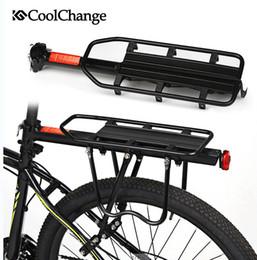 Wholesale CoolChange Aluminium Alloy Bearing kg Bicycle Carrier Rack MTB Mountain Bike Cargo Racks Mount Rear Seat Post Rack