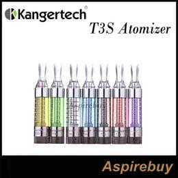 100% Authentic Kanger T3S Atomizer Tank update Clearomizer Cartomizer Kangertech T3S With Changeable Coil Kanger 100% Original