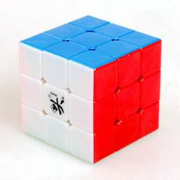 Dayan juguete en venta-Dayan Guhong V1 de tres capas 3x3x3 velocidad cubo mágico juego de rompecabezas Cubos juguetes educativos para niños Niños
