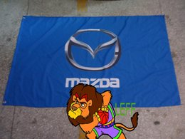 100% polyester 90*150cm,mazda racing team flag,mazda racing banner,Digital Printing