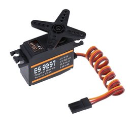 Wholesale EMAX ES9257 Plastic Digital Bearing Micro Tail Servo for RC Align Trex Helicopter