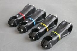 Carbono especial en Línea-Especial nueva UD mate fibra de carbono total de la bicicleta del vástago Road / MTB del carbón del vástago de piezas de bicicletas ángulo de 10 grados 80-120mm