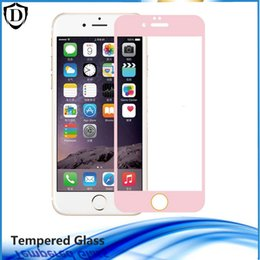 0.26MM all glass 2.5D Full Cover screen protectors for iphone6 6s 6 6s plus explosion proof tempered glass film