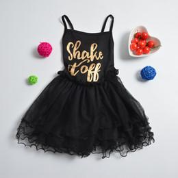 Sans manches en tulle filles habillées en Ligne-Girl Baby Party Ballet Tutu Gymnastique Leotard Bodysuit manches Ruffled Tulle Dance Dress 2-11Y
