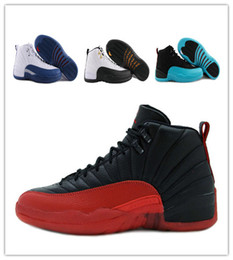 Wholesale BEST New AIR Retro FLU game Whith TAXI French blue gym red wolf Grey Playoff Gamma Blue RepliCAs sale