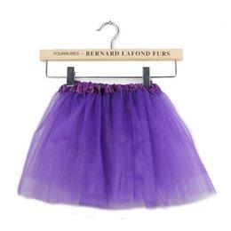 Promotion vêtements de ballet pour bébé Robe pour bébés Candy Color 2016 Kids Tutus jupe Robes de danse Robe TuTu douce Ballet Jupe Filles Enfants Pettiskirt Vêtements 122