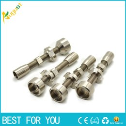 Double Adjustable Grade 2 Titanium Nail Fits female joint we also offer quartz nail ceramic nail