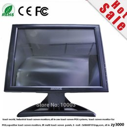 19 inch 4:3 usbTouch screen monitor for POS computer,great price 19 inch resistance touch screen monitor worranty one year