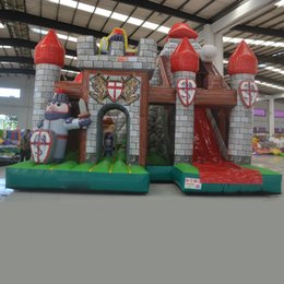 AOQI design popular 2016 hot sell inflatable amusement park inflatable combos in inflatable bouncer combos with slide for sale