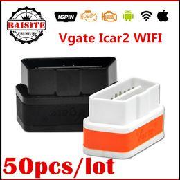 Wholesale Best Selling VGATE ELM WIFI iCar OBD2 ELM327 iCar2 WIFI VGATE OBD icar wifi for iPhone Android PC