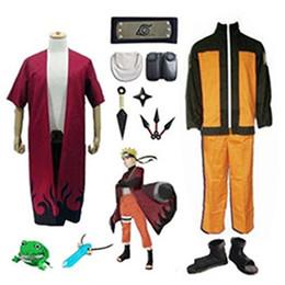 Naruto Uzumaki Naruto Full Set Cosplay Costume
