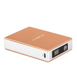 Free Shipping 12000mAh Power Bank , Digital LDC Display Mobile Power Bank , Dual USB Powe