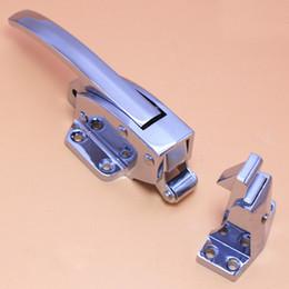 Wholesale zinc alloy handle Freezer handle oven door hinge Cold store storage door lock latch hardware pull part Industrial plant
