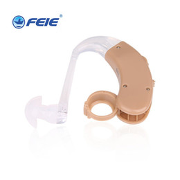 Wholesale 10 Small Analog BTE Clear Sound Hearing Aid S The Volume Can be Control Listening Device Drop Shipping