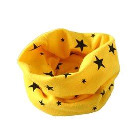 Children Kid Star Unisex Star Fashion Casual Lovely Shawl Pashmina Scarf Pink Yellow Rose Red Water
