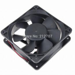 Wholesale 80PCS x120x38mm Ball Bearing mm cm V pin DC Brushless Cooling Fan bearing modeling bearing