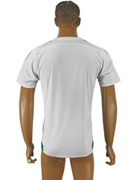 Wholesale New Product Thai Soccer Jersey Algeria Blank Home White Jerseys Shirt Football shirt