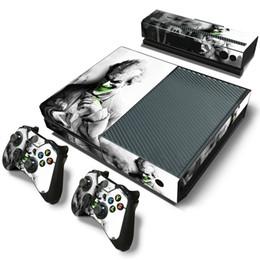 Wholesale Xbox One Skin Stickers Controller Skin Console Joker