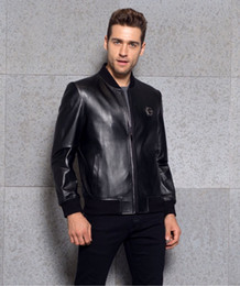 Wholesale Fasion show genuine leather coat newzeland import sheepskin material original technique and metals luxury and simple items stars best love