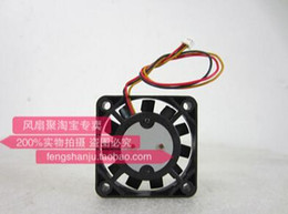 IC FAN F4006EE-12QBV 4cm40*40*06 12V0.09A 3 wire ultra-thin metal blade cooling fan
