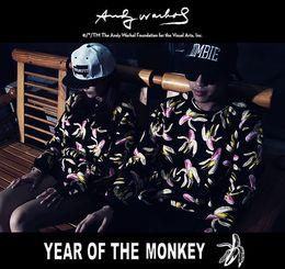 Wholesale ANDY WARHOL Winter Autumn Fashion Brand Hoodies Men Casual Sportswear Male Hoody Long Sleeve Sweatshirt Jacket