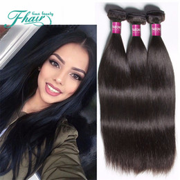 3Pc 8A Brazilian Hair Straight Hair Weave Hair Wefts Full Head Human Hair Extensions Straight Human Hair Bundles