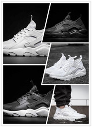 Wholesale New Arrival Cheap Air Huarache II running shoes Huraches Running Sneakers for men outdoors Huarache Shoes White Black Huraches