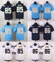 Wholesale 2016 New Men s Elite Chargers Phipli Rivers Hunter Henry Antonio Gates Stitched Jerseys Powder Blue Drop Shipping