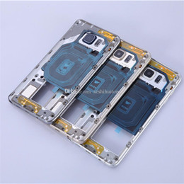 Wholesale Cheap Best Mobiles - Best Original Mobile Housings for Samsung Galaxy Note 5 Cheap Genuine Middle Frame Bezel Rear Case Housings for Samsung Repairs NOTE5MFH