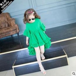 Wholesale Skirts Formal Dance - 2016 summer new Baby girls rose flower tutu dress skirts girls dance lace party dress girls sleeveless vest dress 5size for 2-7T