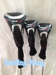 Wholesale Top Quality New Golf D F Driver Fairway Wood Set Head Cover Golf Woods Headcover Clubs