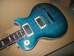 wholesale guitar Chinese guitar custom shop guitar les custom Electric Guitars Blue burst