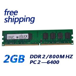 Original chipset ddr2 2gb ram 800mhz memory module PC 6400 for all pc motherboard free shipping DDR2 2GB 800MHZ 240pin 1.8v