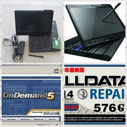 Wholesale alldata and mitchell ondemand Software high performance Alldata car repair programmer in thinkpad x200t laptop touch screen