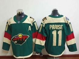 Wholesale Cheap Minnesota Wild Zach Parise Stadium Series Jersey Green Stitched MN Wild Ice Hockey Jerseys