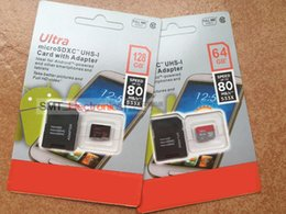 Wholesale Ultra Pro GB Class10 Memory SD Card microSDXC UHS I U1 SD TF Card with SD Adapter for Mobile Phones Tablet PC MB s