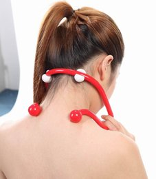 Wholesale up to celebrate the latest U shaped neck care mini massage the neck massage device