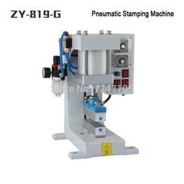 ZY-819-G Pneumatic Stamping Machine,leather LOGO printer,pressure words machine,Shoelace flattening machine