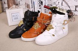 Promotion la conception de chaussures de couleur Les designers de Paris Nouveau Design Haut Haut Chaussures Bootie Cuir Walk Chaussures de Sport Hommes Mode Lace Up Casual Hommes Flats Chaussures homme, 3 couleurs