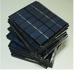 Оптовая! 6В 0.33A 2W Мини-панели солнечных батарей солнечной энергии 3.6V заряда батареи солнечных батарей 136 * 110 * 3 мм 10шт / много от Поставщики панели солнечных ячеек оптового