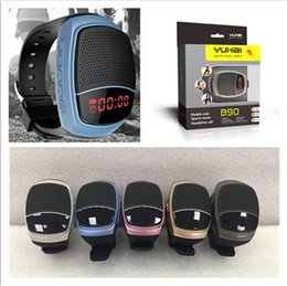 B90 Bluetooth Speaker Mini Smart watch Selfie Speakers Multi-function Sport Radio MP3 Wireless Universal For Music Player With TF Card