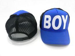 Wholesale Snapback Summer Fashion B boy Casual Mesh Cap BOY Baseball caps Women s Truck cap Sunbonnet Lovers Hat For Men Women