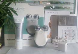 Wholesale 2016 New Nuface mini Face care facial toning device beauty face massager electric roller Multi Functional Beauty Equipment