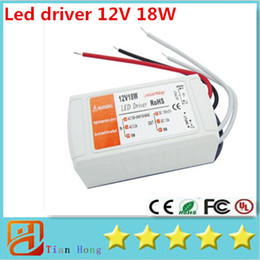 12V 1.5A 18W Constant Voltage Led Driver Power Supply AC100-240VAC 12VDC For RGB Led Strip Light Or Led Bulb Light AC 100-240V