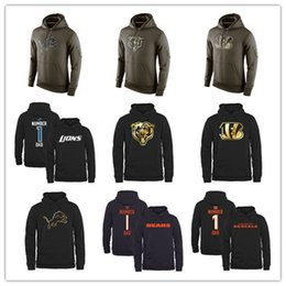 Wholesale nice cheap football Chicago hoodies Bears sweatshirts Bengals fashion Cincinnati men hoodies hoodies size M XL