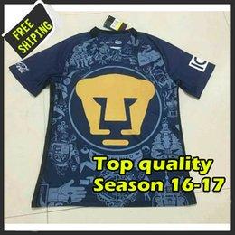 Wholesale Best Quality Mexico Club cougar Camiseta de futbol SOCCER Shirts HOME AWAY Men SOCCER SHIRT