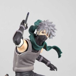Wholesale 21cm Naruto Dark Kakashi Action Figure doll toys best Christmas gift